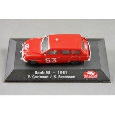 "Saab 95 2-stroke Rally 1961 - ""53"" red"
