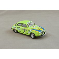 "Saab 96 V4 Rally 1976 - ""2"" green"