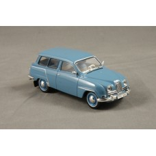 Saab 95 two-stroke 1961 - light blue