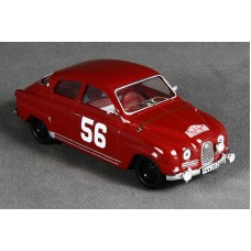 "Saab 96 Sport 2-stroke Rally 1963 - ""56"" toreador red"
