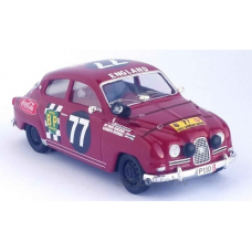 "Saab 96 Sport Rally 1964 - ""77"" red"