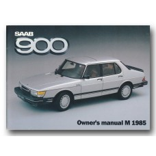 1985   Saab 900   (GB-English)