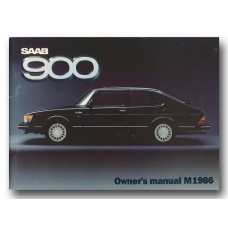 1986   Saab 900   (GB-English)
