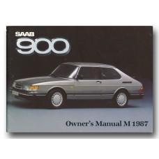 1987   Saab 900   (GB-English)